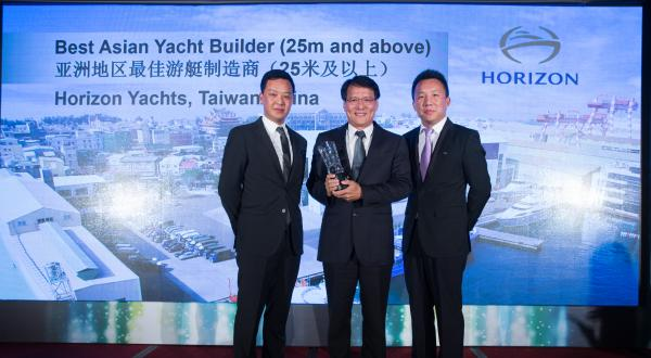Image forHorizon Yachts Receives 10th Consecutive Best Asian Yacht Builder Award!