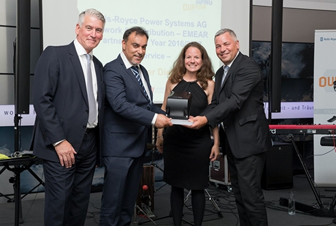 Image forMelita Power Diesel wins MTU / Rolls-Royce Power Systems Award