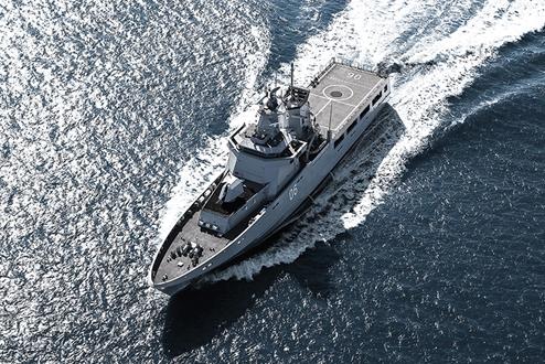 Image forQuantum Marine Stabilizers, Awarded Contract Royal Australian Navy, Lürssen OP