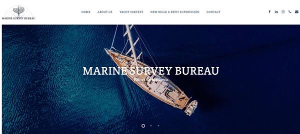 Image forNew Marine Survey Bureau website