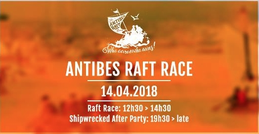 Image forThe Antibes Raft Race is back on 14th April 2018!