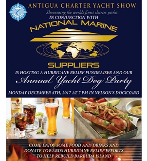 Image forNational Marine Suppliers to Host Fundraiser at Antigua Charter Yacht Show