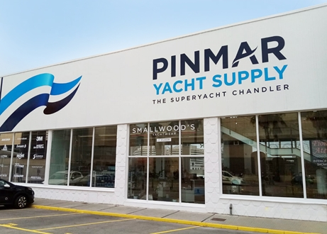 Image forThe new look Pinmar Yacht Supply team are here for you