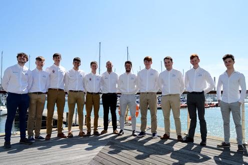 Image forUKSA's Superyacht Cadetship Class of 2021 Graduate