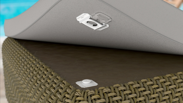 Image for Fastmount takes aim at upholstery with new clip from Textile Range