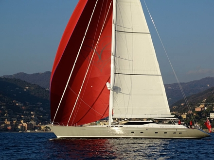 Image for35m high performance sailing yacht Caroline 1 sold