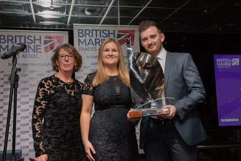 Image forFischer Panda UK's Chris Fower Recognised at 2018 BMTA Awards Dinner