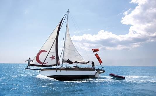 Image forKarpaz Gate Marina Welcomes Turkish Solo Sailor for Yacht Rally