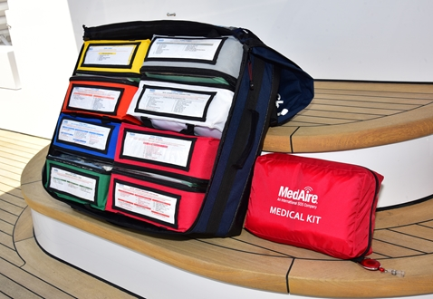 Image forMEDAIRE MEDICAL EXPERTISE DRIVES ADVANCEMENT OF SUPERYACHT MEDICAL KIT SYSTEMS