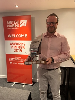 Image forSuperyacht Tenders Toys wins British Marine Business of the Year Award