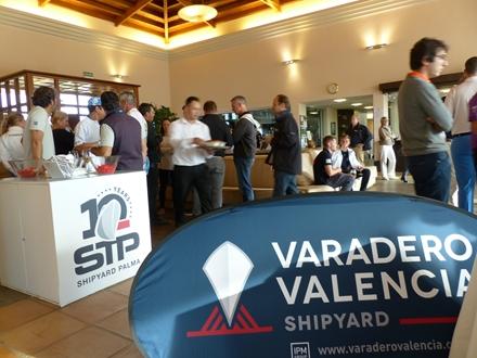 Image forSTP Shipyard Palma and Varadero Valencia participate in The Pinmar Golf Tourn...
