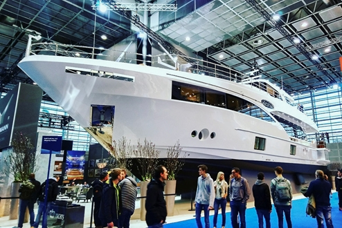Image forGulf Craft and Drettmann Yachts jointly showcased new superyacht - Majesty 100
