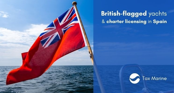 Image forBritish Flagged Yachts   Charter licensing in Spain