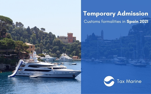 Image forTemporary Admission - Customs formalities in Spain 2021