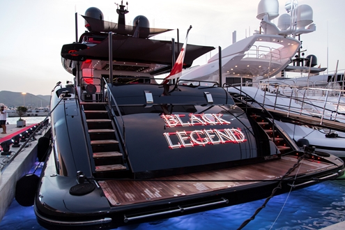 Image forA night of legend in Marina Ibiza by the hand of Michl Marine