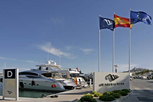 Image forMarina Ibiza joins the Carbon Footprint Registry and exposes proposals