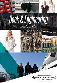 Evolution Yachting Deck & Engineering Spares image
