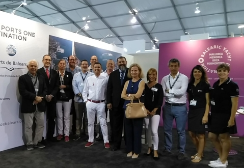 Image forSTP Shipyard Palma and Marina Ibiza present in FLIBS