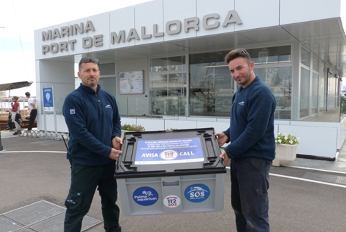 Image forMarina Port de Mallorca renews its animal protection agreement