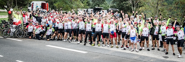 Image forCogs4Cancer riders compete in world's largest timed cycling event this ...