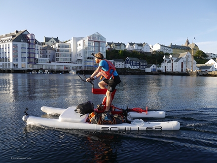Image forSchiller Bikes Endurance Challenge on Norway Superyacht Route