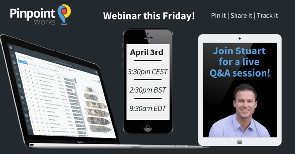 Image forJoin Pinpoint Works for a Live Webinar and Q and A Session