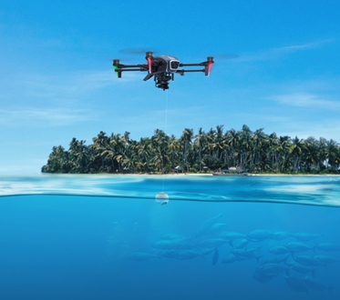 Image forYachtCloud adds range of specialised YachtDrones