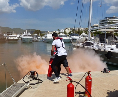 Image forMarina Ibiza is ready for any type of emergency