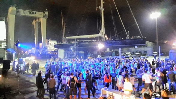 Image forSTP Shipyard Palma held a fundraising party to help  Sant Llorenç
