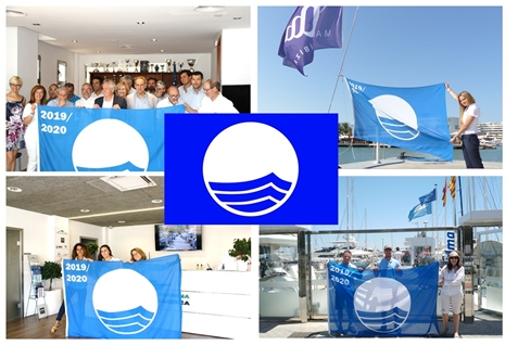 Image forBlue Flag is hoisted again at Marina Port de Mallorca