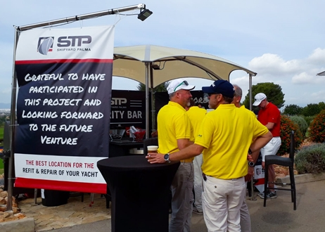 Image forSTP Shipyard Palma says goodbye to Pinmar Golf Tournament