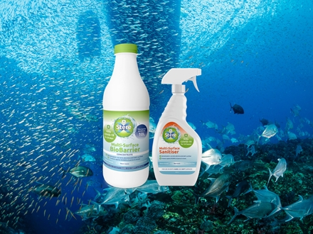 Image forStereX launches Ocean Safe COVID Killing Cleaner